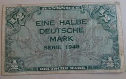 Billet 1/2 Deutche Mark Serie 1948 - - Griekenland
