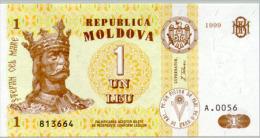 Moldova 1 Leu  1999  Pick 8 UNC - Moldova