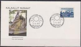 Grönland 1978 FDC Nr.109 25.Jahrestag Änderung Des Grundgesetzes In Dänemark ( D 4192) Günstige Versandkosten - FDC
