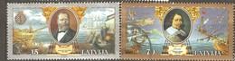 Latvia: Full Set Of 2 Used Stamps, Ships, 2001, Mi#557-558. - Latvia