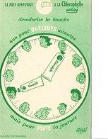 BUVARD PATE DENTIFRICE GIBBS - DESSIN DE JACQUES FAIZANT - Buvards, Protège-cahiers Illustrés
