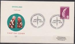 Grönland 1978 FDC Nr.111 Kunsthandwerk ( D 2551) Günstige Versandkosten - FDC