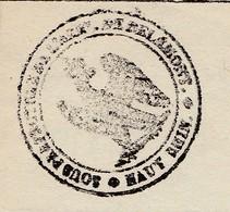 1813 / Reçu De Délémont (Suisse) Occupée Par Napoléon 1er / Sous Préfecture Haut-Rhin / Versement Lieutenant Gendarmerie - Historische Documenten