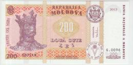 Moldova 200 Lei 2013 Pick16 UNC - Moldova