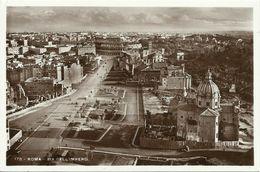 3 AKs / CPs Roma Rom Via Dell'Impero + Castel S. Angelo + Chiesa S. Maria Aracoeli ~1930 # - Kirchen