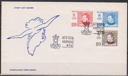 Grönland 1979 FDC Nr.112 - 114 Königin Margarethe II. ( D 952) Günstige Versandkosten - FDC