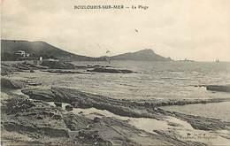 - Dpts Div.-ref-AJ72- Var - Boulouris Sur Mer - La Plage - Carte Bon Etat - - Boulouris