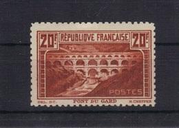 France 1929/31 Pont Du Gard Yvert 262 B Dentelé 11 Neuf** Luxe MNH - Unused Stamps