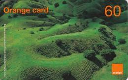 TARJETA DE LA REPUBLICA DOMINICANA  DE 60 UNITS DE ORANGE CARD (PAISAJE VERDE) - Dominicana
