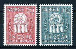 Noruega Nº 567/8 Nuevo - Noruega