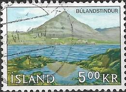 ICELAND 1966 Landscapes - 5k - Bulandstindur FU - Oblitérés