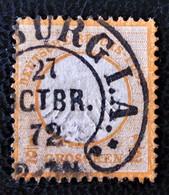 AIGLE EN RELIEF - GROS ECUSSON 1872 - OBLITERE - YT 15 - Germany