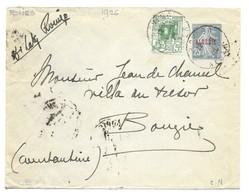 Entier Enveloppe Oblitérée De Rovigo Pour Bougie Constantine 1926 . - Lettres & Documents