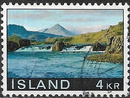 ICELAND 1970 Landscapes - 4k - Laxfoss And Baula FU - 1944-... Republique