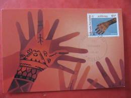 Carte Premier Jour - LES TATOUAGES - PAPEETE  8 Juillet 1992 - Illustrateur : O. BAILLAIS - Tahiti