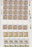 Gibraltar 1981 The Convent 4v Complete Sheetlets (folded) ** Mnh (F7740) - Gibraltar