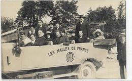 73. CHAMBERY PONT DE BEAUVOISIN. CARTE PHOTO.  PHOTO J. LANCON.  LES MALLES DE FRANCE - Chambery
