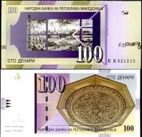 Macedonia 100 Denar 2007 Pick 16 UNC - Macedonia