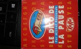 KITKAT Le Dico De La Pause Par Michel Boujenah Année 1993 - Bücher, Zeitschriften, Comics