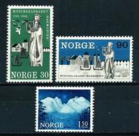 Noruega Nº 488/90 Nuevo - Noruega