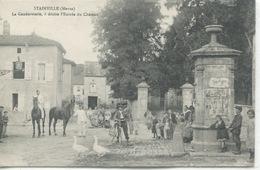 - 55 - MEUSE - STAINVILLE- La Gendarmerie,L'Entrée Du Chateau - Autres Communes
