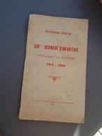 Historique Succint Du 329° Régiment D'Infanterie, Pendant La Guerre 1914-1918. LE HAVRE 1919 - 1914-18