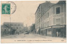 SAINT MAUR - Dépot Des Tramways, Rue Maurice Berteaux - Saint Maur Des Fosses