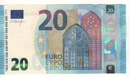 20 EURO   'Belgium'    DRAGHI    Z 001 F2    ZA4508722213  /  FDS - UNC - EURO