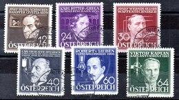 Austria N ºYvert 489/94 (o) Serie, Valor Catálogo 54.0€ - 1918-1945 1ra República