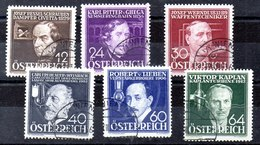 Austria N ºYvert 489/94 (o) Serie, Valor Catálogo 54.0€ - Gebraucht