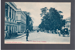 CEYLON No 77 Colombo Prince Street  Ca 1910 OLD POSTCARD - Sri Lanka (Ceylon)