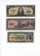 Kuba / Cuba, Che Guevara, 5 Peso, 10 Peso, 20 Peso, 1960, Unc. - Kuba
