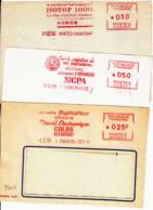 FRANCE - 1959 à 1971 - Impression, Imprimerie Sur 3 Fragments - Sin Clasificación