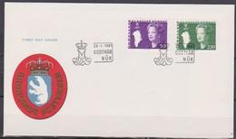 Grönland 1981 FDC Nr.126 - 127  Königin Margarethe II. ( D 6212) Günstige Versandkosten - FDC