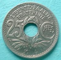 France - Pièce De Monnaie 25 Centimes Lindauer 1914 Avec Défaut - F. 25 Centimes