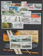 Saint Pierre Et Miquelon Année Complète 2006, 860 à 881 Et PA 86 - Full Years