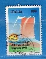 Italia° - 1998 - FIERA Di RICCIONE. Unif. 2401.   Vedi Descrizione. - 1946-.. République