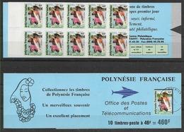 1993 POLYNESIE FRANCAISE Carnet 427** Pêcheur - Markenheftchen
