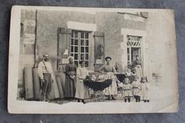 Romagne 86700 Devant L'épicerie E JB Bibault En 1911 759CP01 - Autres Communes