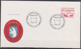 Grönland 1981 FDC Nr.128  Kunst ( D 422) Günstige Versandkosten - FDC