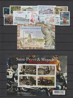 Saint Pierre Et Miquelon Année Complète 2017, 1174 à 1196 - Full Years