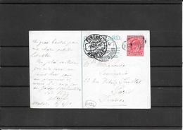 Madeira1910 Paquebot Postcard To Paris Via Lisboa ( Ref 3021) - Emissions Locales