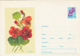 ROUMANIE - Entier Postal Neuf - Fleur : Capucine - Ganzsachen