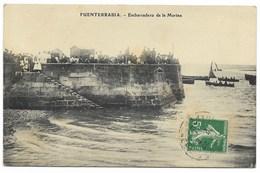 FUENTERRABIA-Embarcadero De La Marina...1912  Animé - Guipúzcoa (San Sebastián)