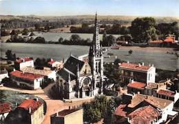 33-PODENSAC- VUE DU CIEL L'EGLISE - France