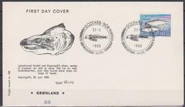 Grönland 1983 FDC Nr.140  Meeresfauna ( D 4531) Günstige Versandkosten - FDC
