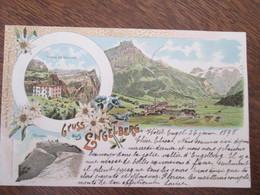 Gruss Aus Engelberg  1898 - OW Obwald