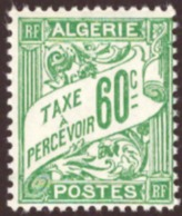 Algérie /Algéria  1926 -1928 Postage Due Stamps  # MNH # 60c - Algérie (1924-1962)