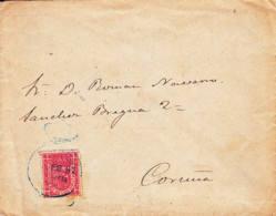 ESPAGNE - 1897 - Lettre - Service - 1889-1931 Königreich: Alphonse XIII.