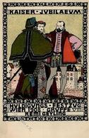 Wiener Werkstätte 164 Geyling, Remigius I-II (kl. Fleck) - Künstlerkarten